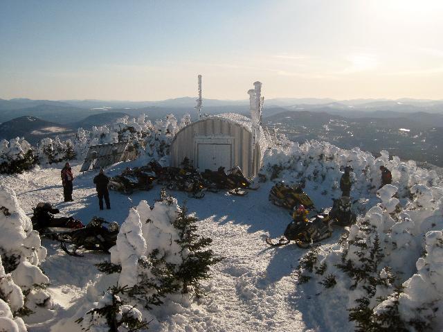 Maine Snowmobile Trails